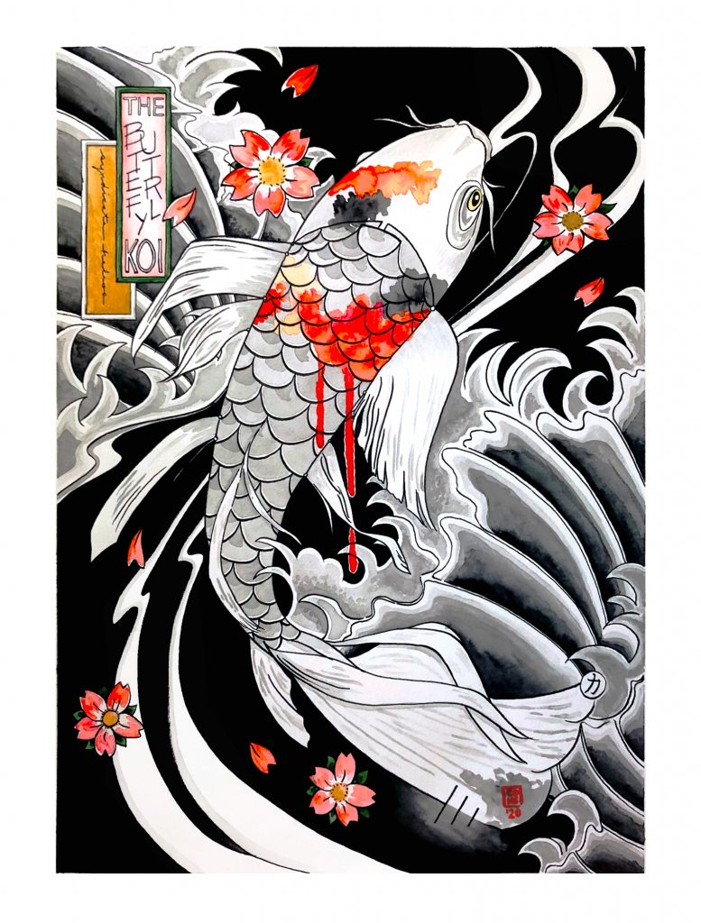 The Butterfly Koi poster